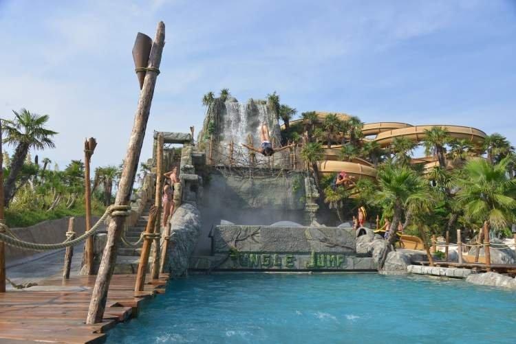 Aqualandia Jesolo; Water Theme Park Hotel Orient